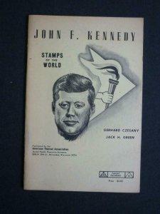 JOHN F KENNEDY STAMPS OF THE WORLD by G CZESANY & JACK H GREEN