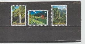 French Polynesia  Scott#  794-796  MNH  (2001 Landscapes)