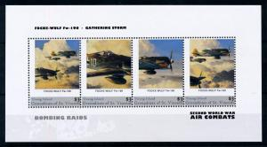 [76567] Young Isl. St. Vincent 2011 World War II Bombing Raids Sheet MNH