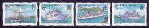 Virgin Islands - Scott #524-527 - MNH - SCV $6.70