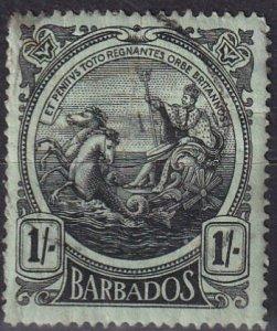Barbados #136  Used CV $13.50 (Z2459)