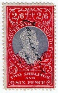 (I.B) Australia - NSW Revenue : Stamp Duty 2/6d (NSW)
