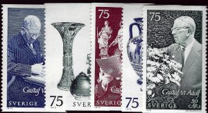 Sweden Vibrant & Attractive Sc #781-85 MNH VF...Fill a bargain spot!