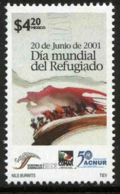 MEXICO 2227, World Refugee Day. MINT, NH. VF.