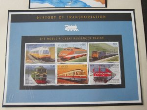 St Vincent 1995 Sc 2215 Train MNH