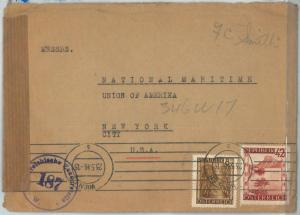 69825 - AUSTRIA  - POSTAL HISTORY - CENSORED COVER  to USA 1946
