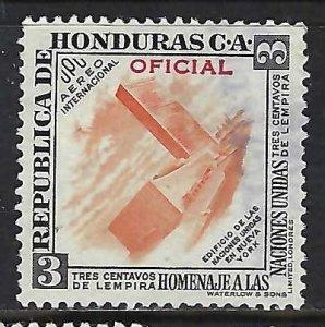 Honduras CO62 VFU UN 007B