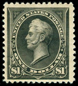 momen: US Stamps #261 MINT OG NH VF+ PF CERT