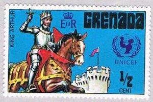 Grenada King Arthur half - pickastamp (AP103413)