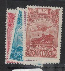 Brazil SC C17-20 MNH (2dqt)
