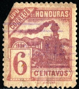 HONDURAS #106, USED FAULT , 1898 - HONDU004NS14