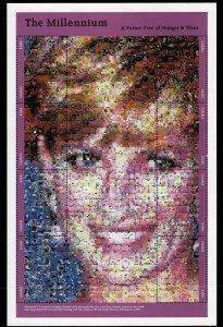 Zambia 1999 Millenium Sheetlet MNH