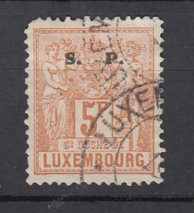 J25719 JLstamps 1882 luxembourg hv of set used #o63 ovpt