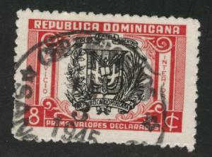 Dominican Republic Scott G13 Insured mails