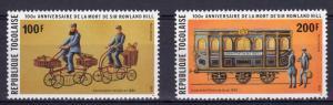 Togo 1979 Mi#1372A/1373A Sir Rowland Hill 100th.Years (2) MNH