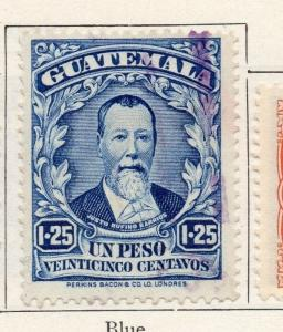 Guatemala 1925 Early Issue Fine Used 1P.25c. 087593