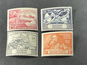NORTHERN RHODESIA # 50-53-MINT/NEVER HINGED----COMPLETE SET---1949