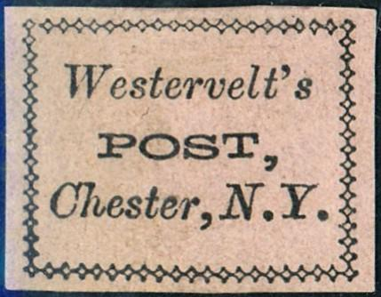 Westervelts Local Stamp