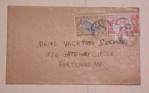 NIGERIA CAMEROUNS  VICTORIA 1956 TO USA