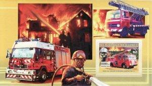 Guinea MNH S/S World Fire Engines 2006