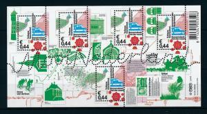 [16564] Netherlands 2009 Beautiful Holland Roosendaal Railway Cycling Sheet MNH