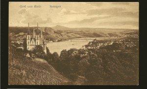 Germany 324 x3 on PM Dusseldorf 1926 Postcard Used