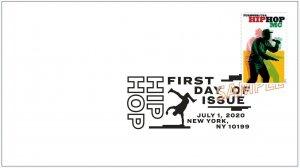 US 5480 Hip Hop MC BWP FDC 2020 after 7/15