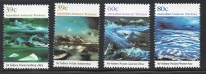 Australian Antarctic Terr. Sc L77-80 1989 Nolan Paintings stamp set mint NH