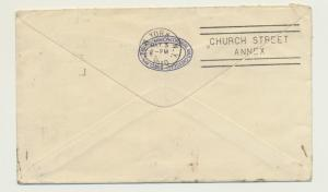KENYA TO USA 1940 CENSOR (#2) COVER, SCARCE TYPE 1B H/S, 30c RATE(SEE BELOW)