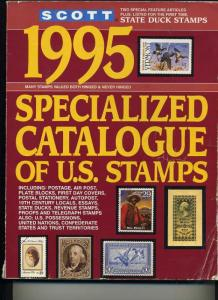 1995 Scott US Speciality Catalog