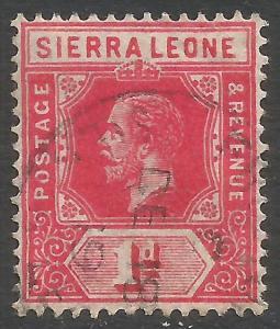 SIERRA LEONE 104 VFU Z7060-2