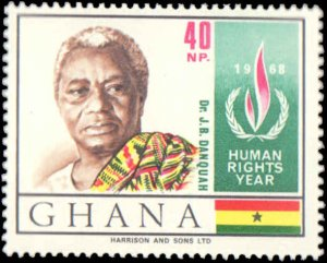 Ghana #348-351, Complete Set(4), 1969, Never Hinged