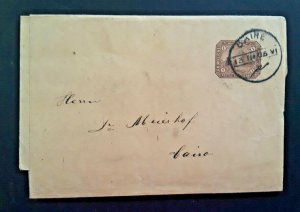 1906 Cairo Egypt.To Cairo Egypt Africa Folded Vintage Letter