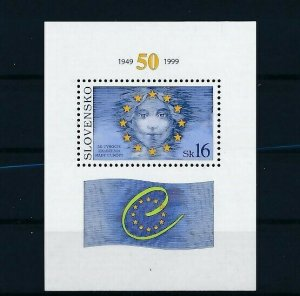 D151316 Slovakia S/S MNH Flag European Union - Europa