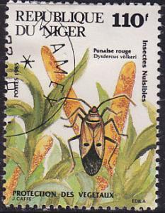 Niger 693 Environmentally Damaging Species 1985