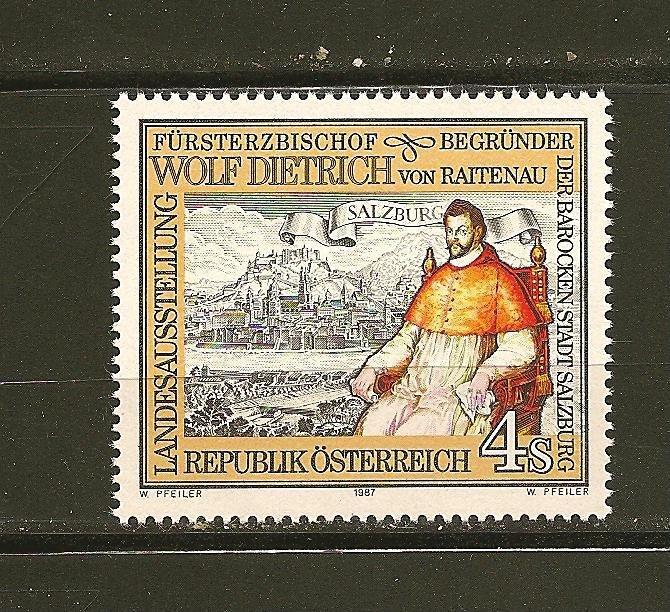 Austria Wolf Dietrich 1987 Issue MNH
