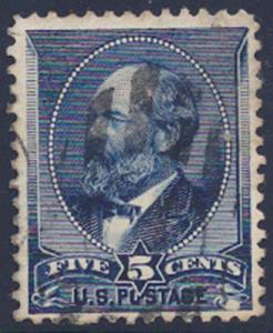 MALACK 216 VF/XF used,  bold color,  nice stamp nh0114