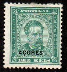 Azores #46c  Mint  Scott $30.00   Perf 11 1/2