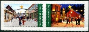 HERRICKSTAMP NEW ISSUES NORWAY Christmas 2020 Self-Adhesive Pair