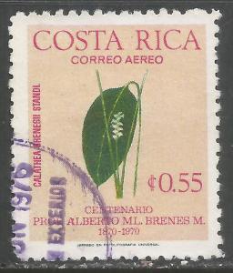 COSTA RICA C655 VFU ORCHIDS Y877
