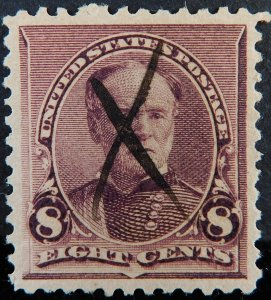 USA #225 USED SUPERB.  SCV  $650.00  MAGNIFICENT EXAMPLE CONDITION RARITY
