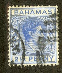BAHAMAS 104 USED SCV $1.90 BIN $.80 ROYALTY