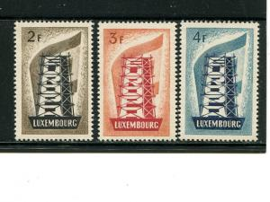 Luxembourg 1956 Europa issue    Mint XF NH