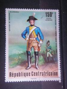 CENTRAL AFRICAN, 1976, used 150f