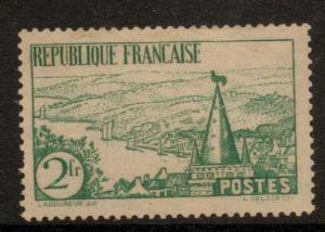 FRANCE SG525 1935 2f GREEN  MTD MINT