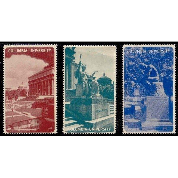 US - COLUMBIA UNIVERSITY Poster Stamps
