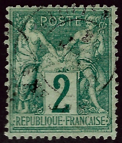 Important France #65 Used F-VF hr SCV$240...From a great collection!