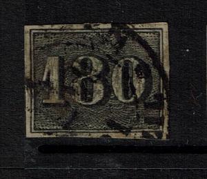 Brazil SC# 26, Used, Small top margin thin - Lot 070417