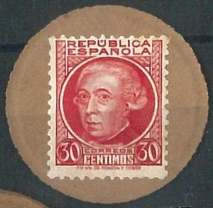 70761 - SPAIN  - SELLO MONEDA - Coin STAMP ! Very nice!