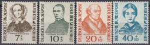 Germany #B344-7 MNH CV $29.10   (Z1941)